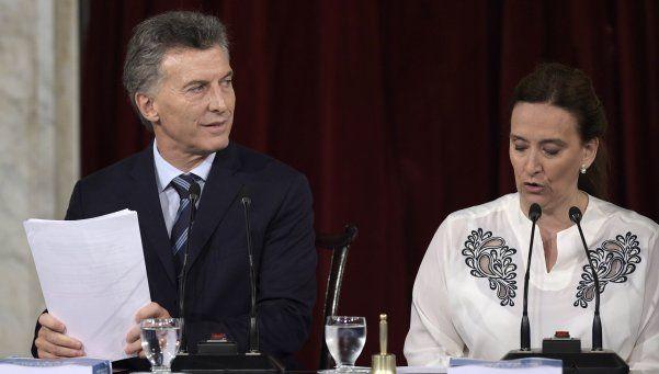El blooper de Macri: leyó dos veces la misma hoja en el discurso