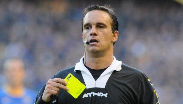 Patricio Loustau, el árbitro del River-Boca