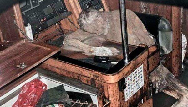 Filipinas: descubren una momia en un yate fantasma