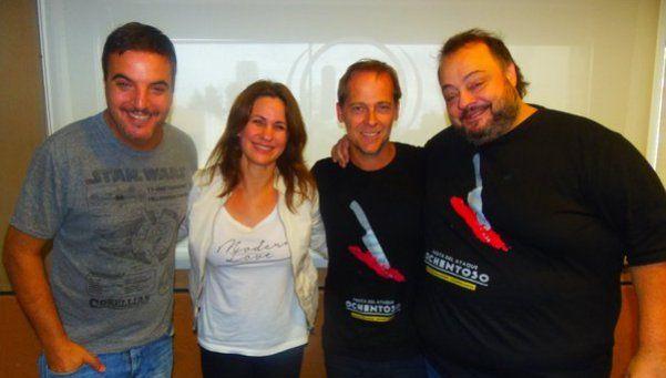 La entrevista con códigos de Matías Martin a Nancy Dupláa