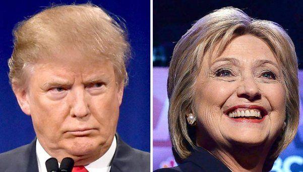 Trump y Hillary ganaron el nuevo supermartes en EE UU