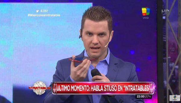 """Stiuso apuró en """"Intratables"""" a Moreno Ocampo"""
