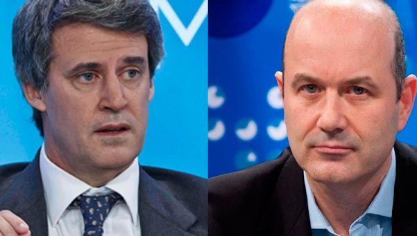 González Fraga le bajó el tono a la grieta en el equipo económico
