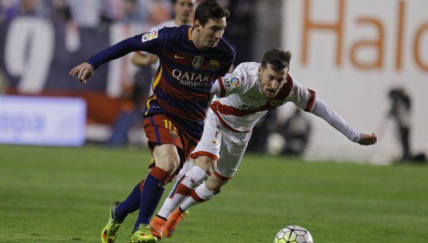 Barcelona goleó a Rayo con un hat-trick de Messi