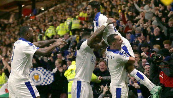 Leicester ganó de visitante y se aleja en la Premier League
