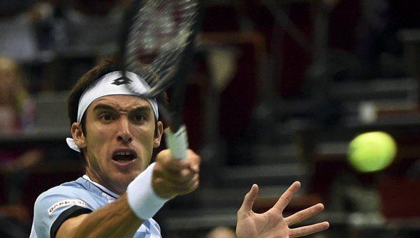 Mayer le dio la clasificación a Argentina en la Davis
