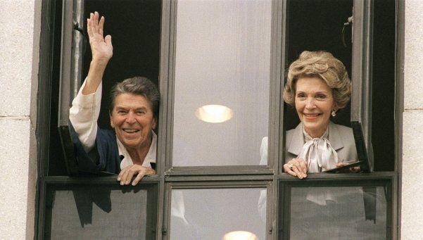 Falleció Nancy Reagan, ex primera dama de Estados Unidos