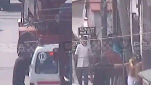 Video | Así detuvieron a dos delincuentes en Barracas