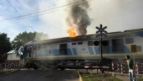 Explosión e incendio en la línea San Martín: hay 30 heridos