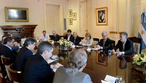 Macri encabezó una reunión de gabinete en Casa Rosada