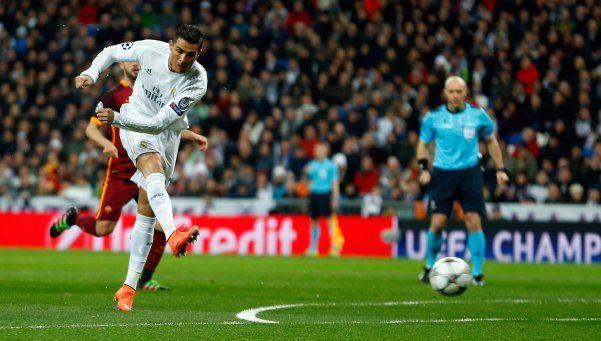 Roma perdonó y Real Madrid pasó a los cuartos de la Champions