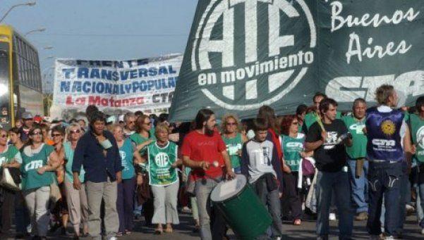 ATE: paro nacional con movilización para el 24 de mayo