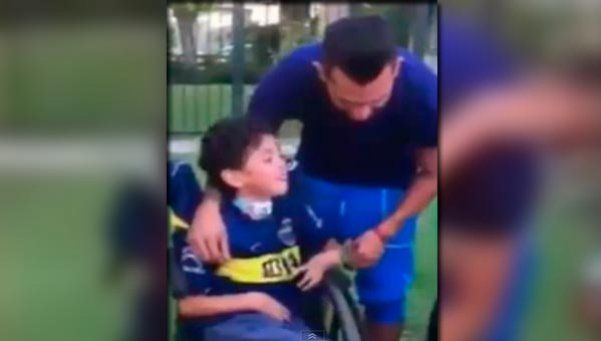 El video de Tevez que conmueve a todo el mundo Boca