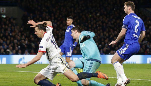 PSG sacó al Chelsea de la Champions League