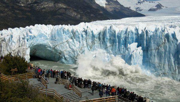 ¡Impresionante! Así se cayó el glaciar Perito Moreno