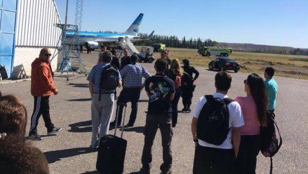 Avión de Aerolíneas aterrizó de emergencia por amenaza de bomba