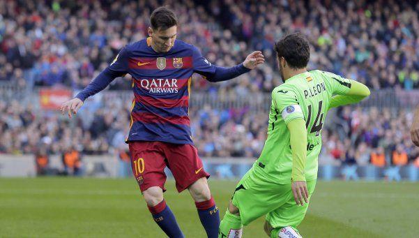 El Barça humilló al Getafe en el Camp Nou