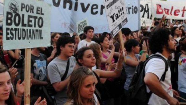 Campaña en marcha por el boleto estudiantil gratuito