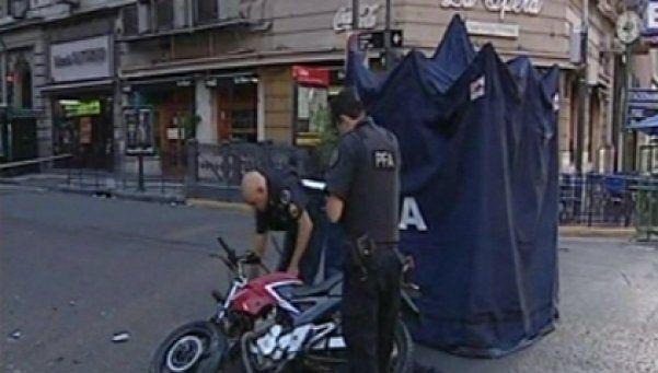 Choque fatal en Corrientes y Callao