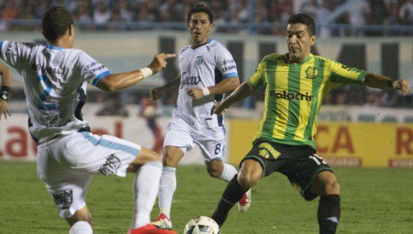 Atlético Tucumán salvó un punto sobre la hora ante Aldosivi