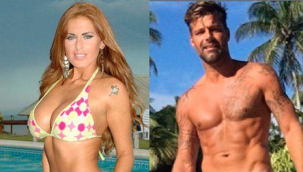 ¿Silvina Luna pasó de bando a Ricky Martin?