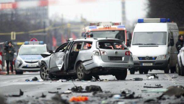 Explotó un coche bomba en Alemania: un muerto