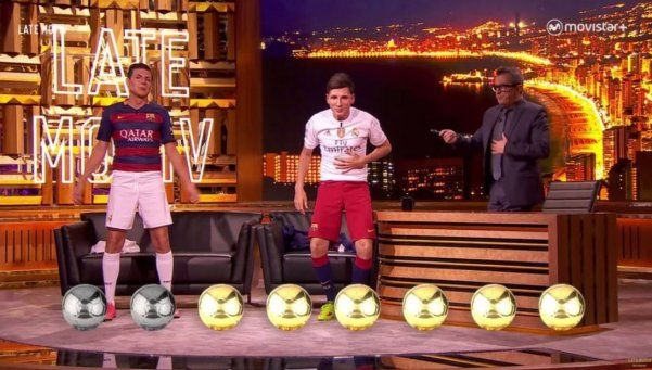 Martín Bossi enfrentó a Messi y a Ronaldo en España