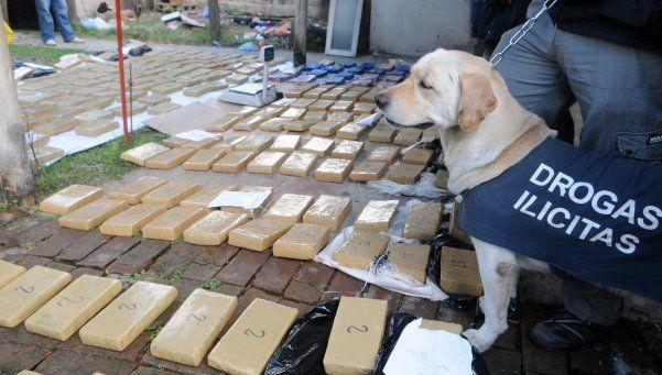Secuestraron 400 kilos de marihuana en Esteban Echeverría