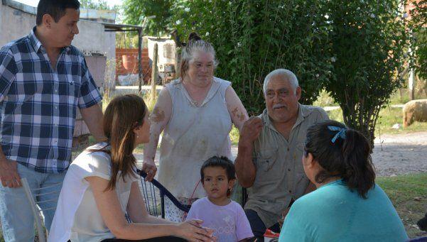 Visita sorpresiva de Vidal a escuela y barrio de San Vicente