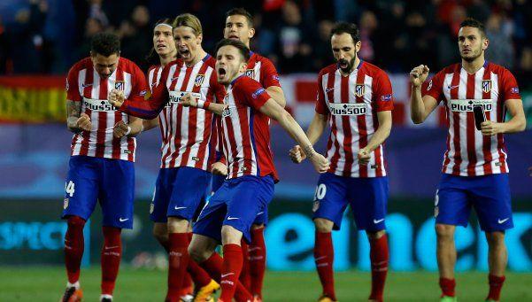 Champions: Atlético avanzó a los cuartos por penales