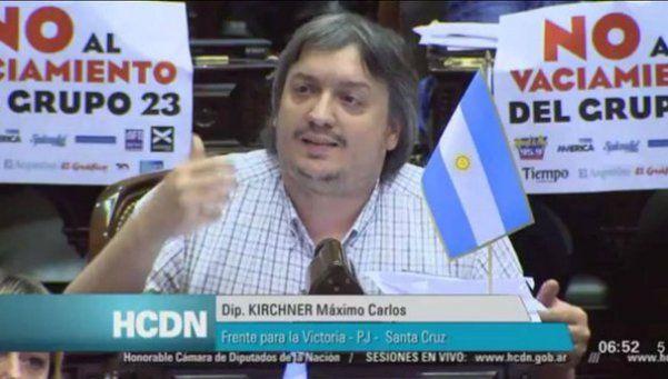 Máximo vaticinó una disputa por la conducción del PJ