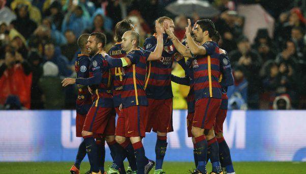 La MSN le dio al Barcelona la clasificación a los cuartos de final