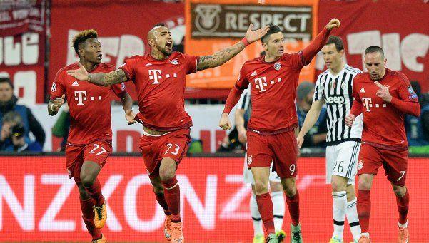 Champions: Bayern derrotó a Juventus en un partido lleno de emociones
