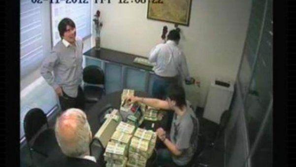 Video avala investigación sobre lavado de dinero