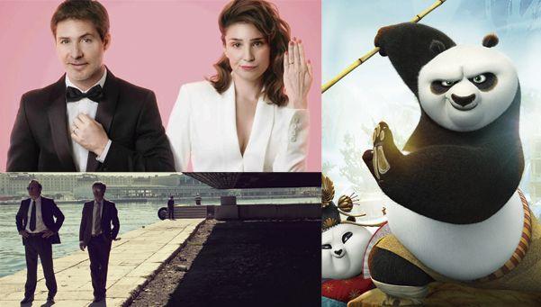 Un jueves de pandas, bodas y mafiosos