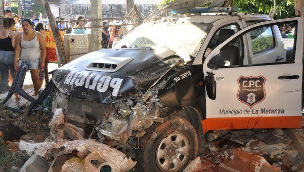 Crimen con patrullero: desafectaron de la fuerza al policía que conducía