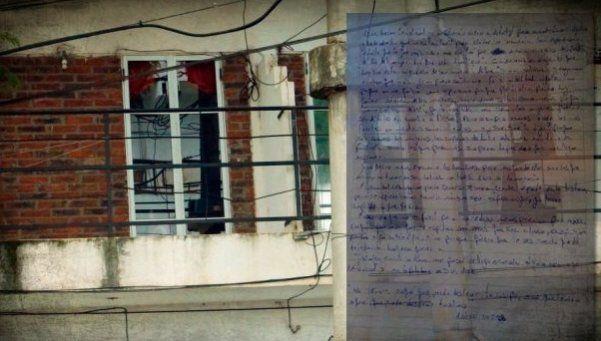 Joven violada escribió una conmovedora carta