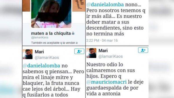 Una mujer admitió amenazas a Macri y su hija Antonia