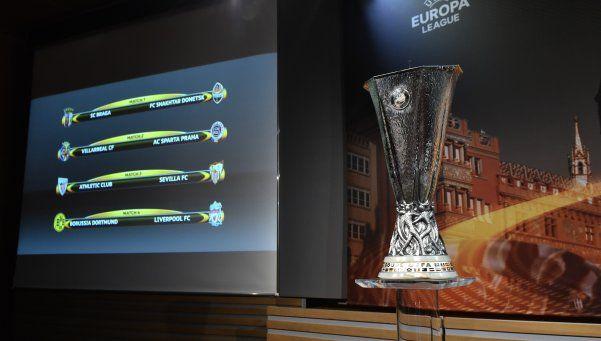 Quedaron definidos los cruces de la Europa League