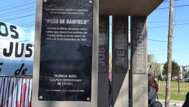 Acto por la Memoria en el ex centro clandestino Pozo de Banfield