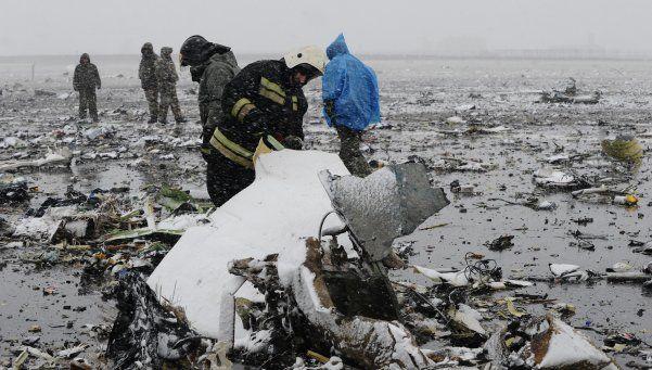 Al menos 62 muertos al estrellarse avión en Rusia