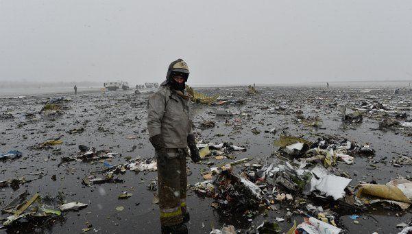 Video | Así se estrelló el avión en Rusia