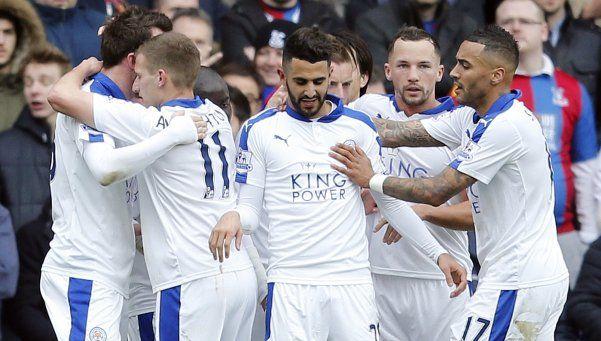Leicester venció a Crystal Palace y está cada vez más cerca del título