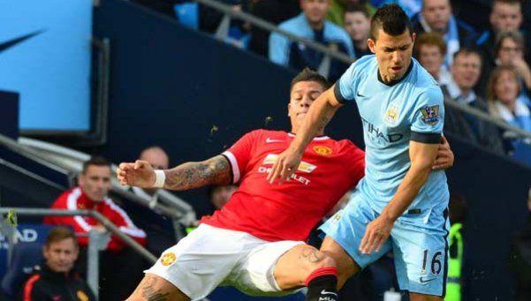 El United le ganó al Manchester City del Kun