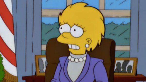 Los Simpsons y una premonición sobre Donald Trump