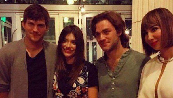 Ashton Kutcher encontró a su Eva en la Argentina