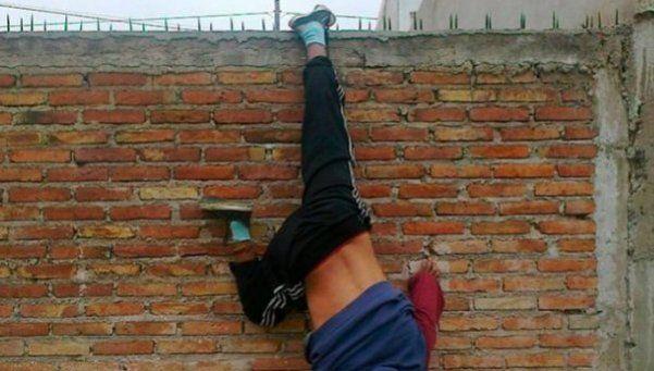 Córdoba: fue a robar y... mirá cómo terminó en su intento de fuga