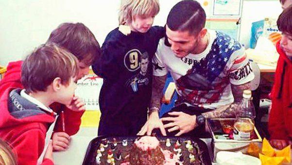 """Hijo de Maxi López: """"Mauro, sos el mejor papá del mundo"""""""