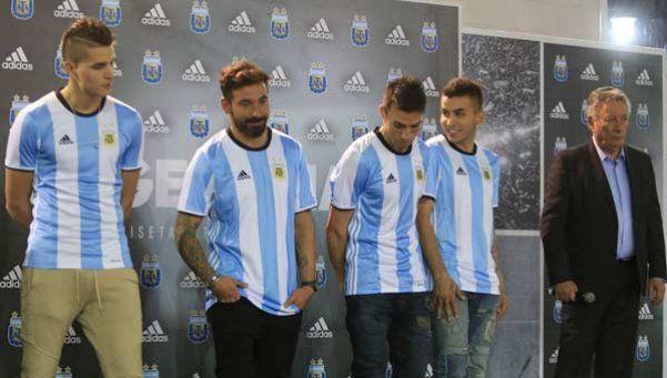La Selección argentina ya tiene nueva camiseta