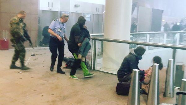 Videos   Los atentados en Bruselas desde adentro